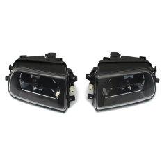Promo Pair Car Fog Lights Driving Spot Lamps Black Housing For Bmw E39 5 Series Z3 1997 2000 Intl