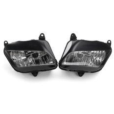 Pasang Depan Lampu Depan Kepala Lampu Lensa Assembly untuk Honda CBR600RR 2007-2011-Internasional