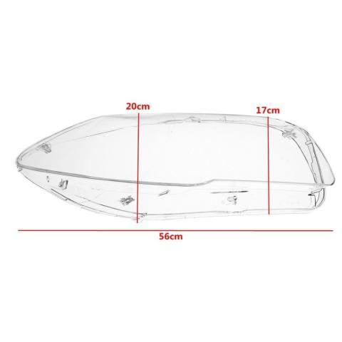 Pasang L + R Lampu Jelas Lensa Meliputi BMW F10 F18 520 523 525 535 530 10-14- internasional 1