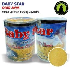 Pakan Bayi Anakan Burung Lovebird Lolohan Baby Star Oriq Jaya