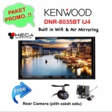 Miliki Segera Paket Audio Mobil Kenwood Dnr 8035Btij4 Head Unit Dnr 8035Bt Double Din 2 Din Tape Rear Camera Universal