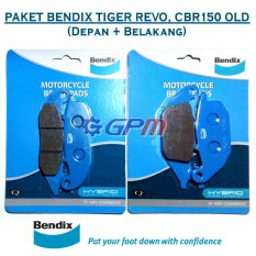 Paket Bendix Honda Tiger Revo. CBR150 Old Depan Belakang