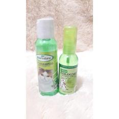 Cleine Tadita Petshop - Paket Bio Natural Shampoo & Parfume Kucing Apple By Cleine Tadita Petshop.