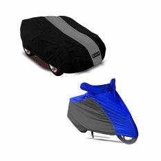 Paket Hemat Cover Agya/Ayla dan Cover Motor Bebek/Matic Kombinasi