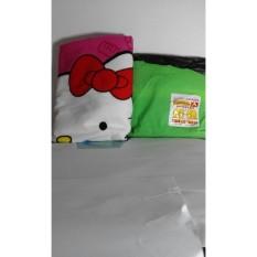 Paket Hemat Jas hujan Dewasa skotlet twin elephants Dan Handuk Pink Lucu