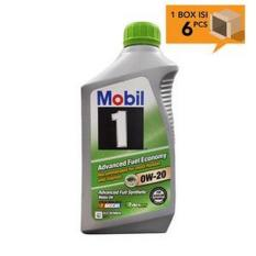 Paket Karton - Mobil 1 Advanced Fuel Economy Full Synthetic 0W-20 [6pcsX1L]