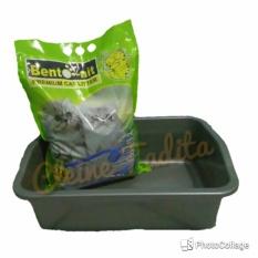 Spek Paket Litter Box Besar Bentonit Apple Cleine Tadita