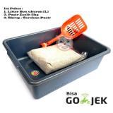 Promo Paket Litter Box Ukuran L Toilet Kucing Segitu Petshop