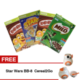 Paket Sereal Nestle Berhadiah Star Wars Bb 8 Cereal2Go 2 Box Koko Krunch Cereal 330G 1 Box Nestle Milo Cereal 330G 1 Box Nestle Honey Stars Cereal 300G Murah