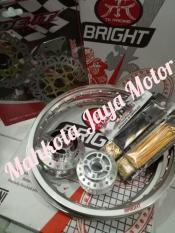 Paketan Velg TK Japan Original Murah Motor All Satria Fu Ring 17 Free Stel Jari2