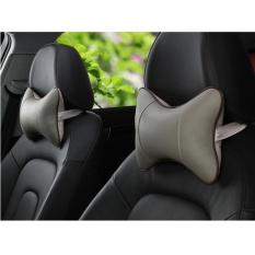 PALIGHT 2 Pcs Mobil Bantal Kursi Kepala Sandaran Leher Cushion Headrest-Intl