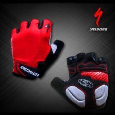 PALING DISUKA PALING DICARI Gloves / Sarung tangan Half SPECIALIZED ( black red dan red black ) TERLARIS