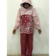 PALING DISUKA PALINHG DICARI Jas Hujan Stelan Batik Sekar Rain City - 69132 ( baju dan celana ) TERLARIS