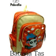 Palo Alto Tas Ransel Kids BAT-17B + Waterproof Raincover