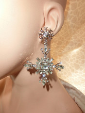 Pangeran Online Penuh Berlian Mewah Anting Jepit Tanpa Tindik