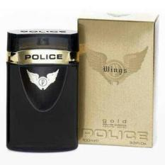 Parfume Original Police Gold Wings EDT 100 Ml ~ No Box