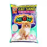 Jual Pasir Wangi Gumpal Kucing Meow 12 Liter Segitu Petshop Branded