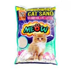 Toko Pasir Wangi Gumpal Kucing Meow 12 Liter Online