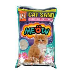 Promo Pasir Wangi Gumpal Kucing Meow 5 5 Liter Akhir Tahun