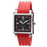 Dapatkan Segera Pasnew Children Quartz Analog Rubber Band 50 M Waterproof Boys Girls Watch Merah Intl