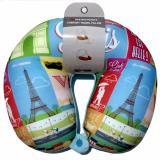 Passport Bantal Travel Leher Paris Passport Home Diskon 50