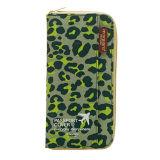Beli Penutup Paspor Dokumen Dompet Perjalanan Tempat Penyimpanan Passport Cover Wanita Bisnis Kartu Id Bag Green Leopard Baru