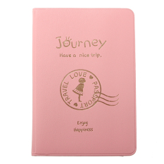 Promo Passport Ticket Id Credit Card Journey Travel Holder Cover Case Protector Skin Pink Intl Akhir Tahun