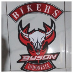 Promo Patch Emblem Bordir Bikers Byson Bet Eby