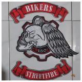 Harga Hemat Patch Emblem Bordir Bikers Cb150 Bet Ecb