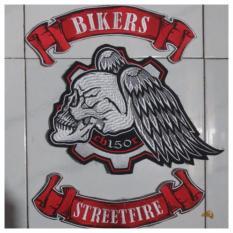 Jual Patch Emblem Bordir Bikers Cb150 Bet Ecb Lengkap