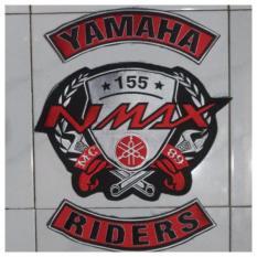 Promo Patch Emblem Bordir Bikers Nmax Bet Eyn Akhir Tahun