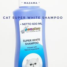 Paw Story Cat Shampoo Super White Shampoo / Shampo Pemutih Untuk Kucing  / Shampoo Dan Conditioner Kucing 2 in 1  / Shampoo Kucing / Cat Shampoo / Cat Shampoo Super White / Cat Shampoo Tick And Flea / Cat Shampoo Anti Jamur / Shampoo Kucing Anti Kutu