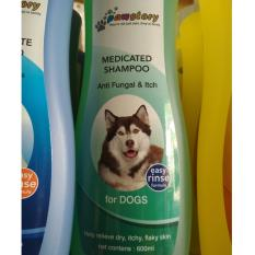 Toko Pawstory Dog Story Medicated Jamur Gatal Murah Indonesia
