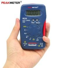 PEAKMETER M320 Digital Multimeter Handheld Digital Meter Data Hold AC / DC Voltage Current Resistance Diode Test Multitester
