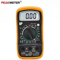 Spek Peakmeter Mas830L Digital Multimeter Ac Dc Tegangan Arus Dc Resistance Multitester Intl