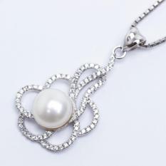 Harga Pearl Pearl Wgp 100 Kalung Perak Emas Putih Dan Mutiara Asli Garansi 6 Bulan Di Dki Jakarta