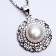 Dimana Beli Pearl Pearl Wgp 112 Kalung Perak Emas Putih Dan Mutiara Asli Garansi 6 Bulan Pearl Pearl