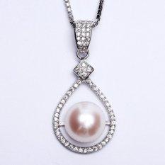 Toko Pearl Pearl Wgp 115 Kalung Perak Emas Putih Dan Mutiara Asli Garansi 6 Bulan Terlengkap