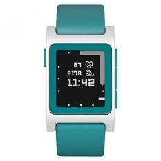 Pebble 2 + Denyut Jantung Smart Watch-AQUA/Putih-Intl