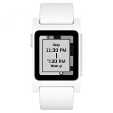 Pebble 2 + Denyut Jantung Smart Watch-Putih/Putih-Intl