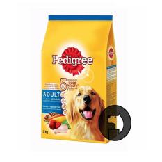 Model Pedigree 3 Kg *d*lt Chicken And Vegetables Flavor Terbaru