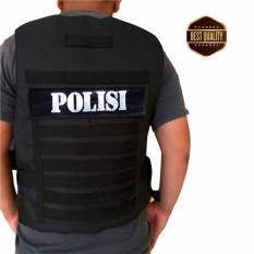 Pelindung dada / Rompi dada Mutifungsi POLISI / Body Protector / Jaket bikers - Best Seller
