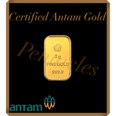 Pentacles Logam Mulia PT Antam 2 gram sertifikat