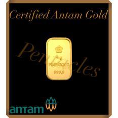 Pentacles Logam Mulia PT Antam 4 gram sertifikat