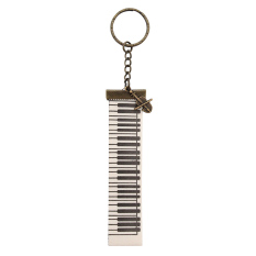 Pentatonic Music / Keyboard Mini Cello Keychain / Gantungan Kunci motif Musik