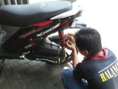Peredam Guncangan Motor X-Ride Ukuran 1.5 Isi 1 Pcs By Aulia Pratama.