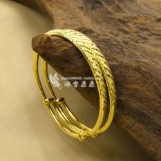 Toko Peregangan Berlapis Emas Menikah Bracelet Termurah Di Tiongkok