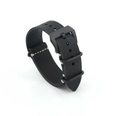 Spesifikasi Perhiasan Pengganti Kulit Emylo Band Tali Pengikat Sabuk 24 Mm Untuk Pria Atau Pun Wanita Hitam Merk Emylo