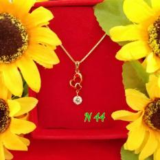Permata Berlian Cantik Kalung Liontin By Joyshopaksesoris.