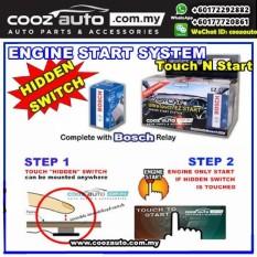 Perodua Viva EasyCar ANTI-THEFT Ultra Touch n Start InvisibleHidden Switch Engine Start System - intl
